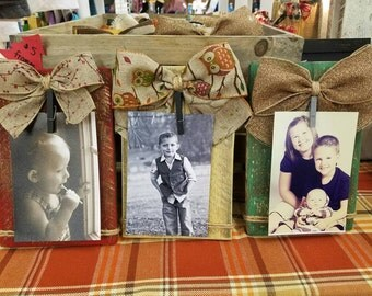 4x6 rustic wood frames. Gift idea.