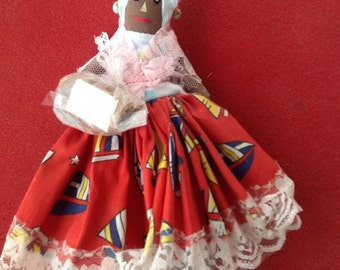 Vintage Jamaican Spice Doll