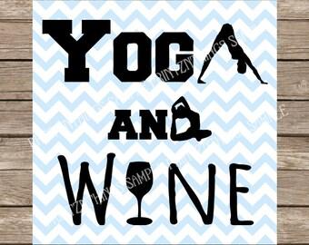 Yoga SVG, Yoga, Wine svg, Wine, Fitness, Fitness svg, Gym, Gym svg, Workout, Workout svg, Workout Tank, DXF, SVG, svg files, svg designs