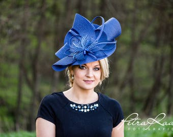 Hat Royal Ascot has ball Hat Kentucky-Derby horse racing has couture millinery Sinamay wedding Fascinator U12