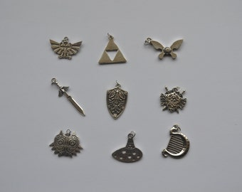 Legend of Zelda metal charm