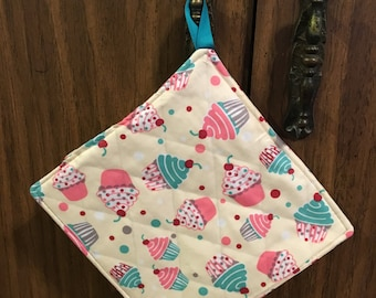 Cup Cake Pot Holder Hot Pad