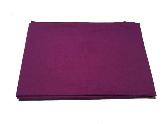 Purple French Terry Fabric