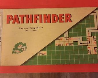Vintage Milton Bradley Pathfinder Board Game, 1954
