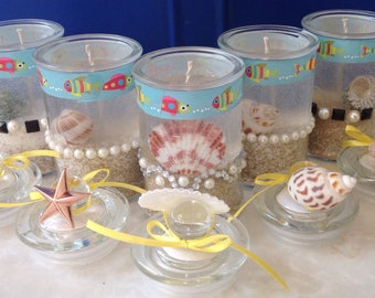 Under The Sea Gel Candles