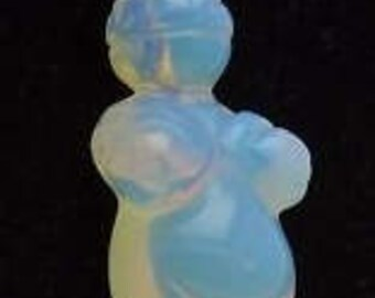 Venus of Willendorf Opalite Pendant