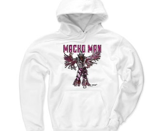 Macho Man Pro Wrestling Officially Licensed Hoodie S-3XL Randy Savage Sketch P