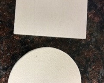 Half Moon Felt Squeegees - Vinyl Application Tool - Vinyl Squeegee - Vinyl Tool for Decals Graphics