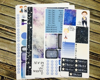 Magical Creatures Weekly Planner Stickers Full Kit - for use with Erin Condren - Happy Planner