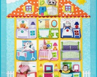 Doll House Quilt Pattern by Amy Bradley Designs. ABD 278