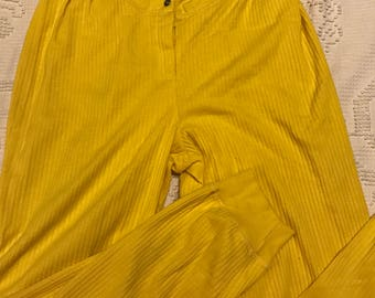 Vittadini yellow sport pants