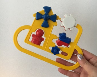 Vintage baby rattle boxspeeltje