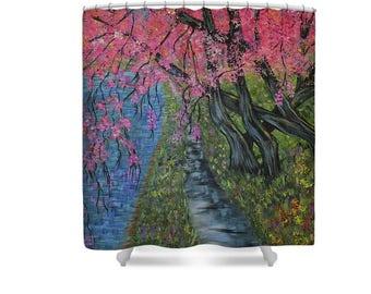 Cherries curtains – Etsy