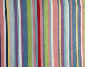 line fabric. cotton fabric