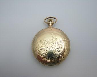 Handsome Vintage Double Hunter Elgin Pocket Watch 1901