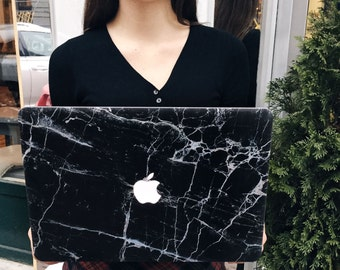 Macbook Pro 13 case, Macbook marble case, Macbook Pro 13 Retina case, Macbook Pro 13 Retina, Macbook Pro Retina case, Macbook black marble