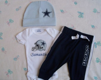 Items Similar To Dallas Cowboys Inspired Converse And Hat