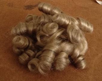 Curly Locks Blonde Doll Wig