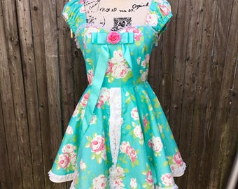 Princess Giselle Floral Dress