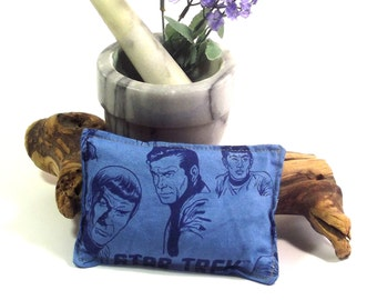 Headache Relief Pad - Flax Heating Pad - SciFI Eye Pillow - Sinus Headache Pad - Natural Pain Relief - Natural Living - Aromatherapy Relief
