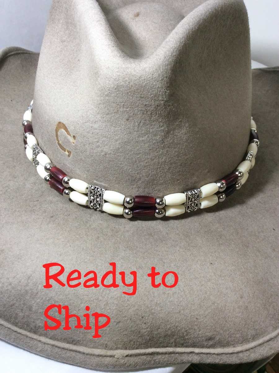 Beaded Hat Band Cowboy Hat Band Rodeo Queen Cowboy Hat