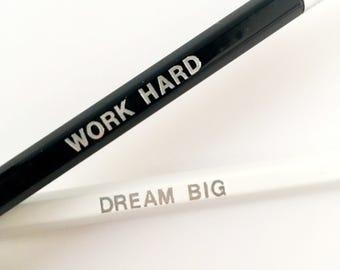 Pencils, set of 2, Black & White
