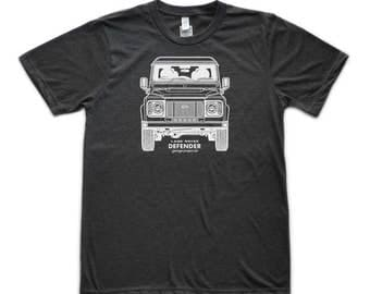 Land Rover Defender Front Graphic T-Shirt