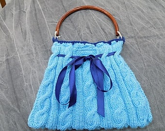 Blue Summer Handbag