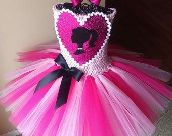 Barbie Inspired Princess Tutu Dress