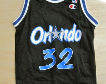 Vintage Orlando Magic Shaquille O'Neal NBA Youth Jersey No. 32