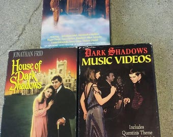 Dark shadows vhs combo
