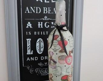 Vanity Lamp | Gifts for Girls | Vintage Perfume Bottle Lamp | Sweet 16 Gift | Girls Dorm Decor | Teen Room Decor | Vanity Night Light