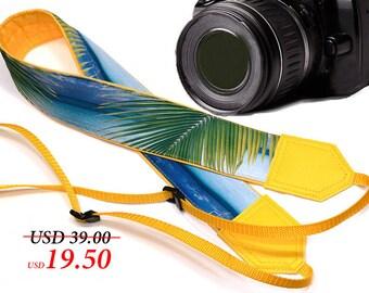 InTePro DSLR / SLR Camera Strap. Sea Camera Strap. Beach camera strap. Camera accessories. Photographer gift.