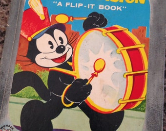 Felix the Cat On Television A Flip It Book Told by Irwin Shapiro