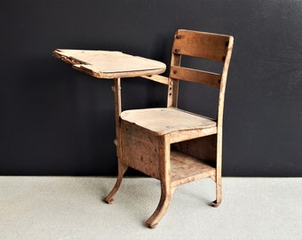 antique school desk etsy 87974