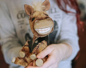 Happy Horse Marsel teddy pony ooak