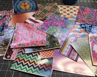 Pattern Vinyl, Vinyl Bundle Pack, Random Grab Bag Bundles, Siser HTV, Pattern Permanent Adhesive Vinyl