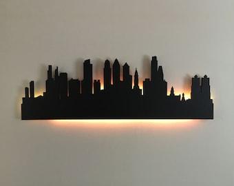Philadelphia Skyline Wall Cutout