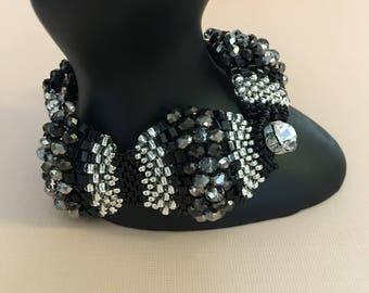 Rock Czech Beaded Bracelet by MARC
