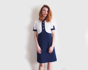 HOLD FOR V vintage stewardess dress