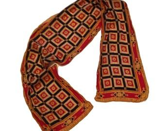 "Echo Regal Royal Palace Silk Oblong Scarf - 52"" x 10.5"""