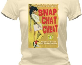 SNAPCHAT CHEATERS Pulp-Fiction T-Shirt