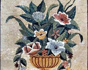 Flower Vase Mosaic