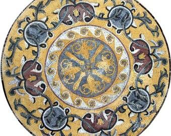 Stone Mosaic Rondure - Cadence