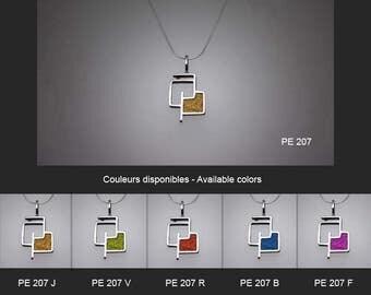 Sterling silver pendant. Silver pendant. PE 207