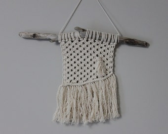 Small Macrame Hanging on Alberta Drift.