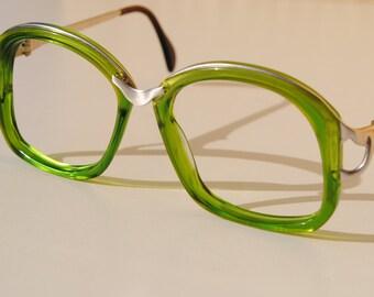 Kelly Green Eyeglass Frames : Unusual eyeglasses Etsy