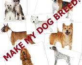 Make My Dog Breed! - Have a Blankie Buddy Designed after your favorite breed of dog! - Custom From Photos included in price!
