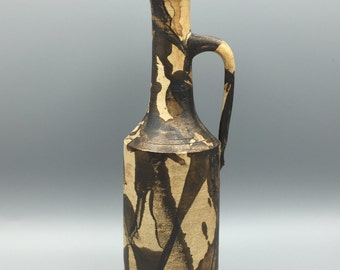 Gerhard Liebenthron Studio handthrown Ceramic  Modern Art vase WGP.- 1980 -  West Germany Pottery.  WGP.