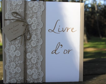 Guestbook range |mariage country chic|.